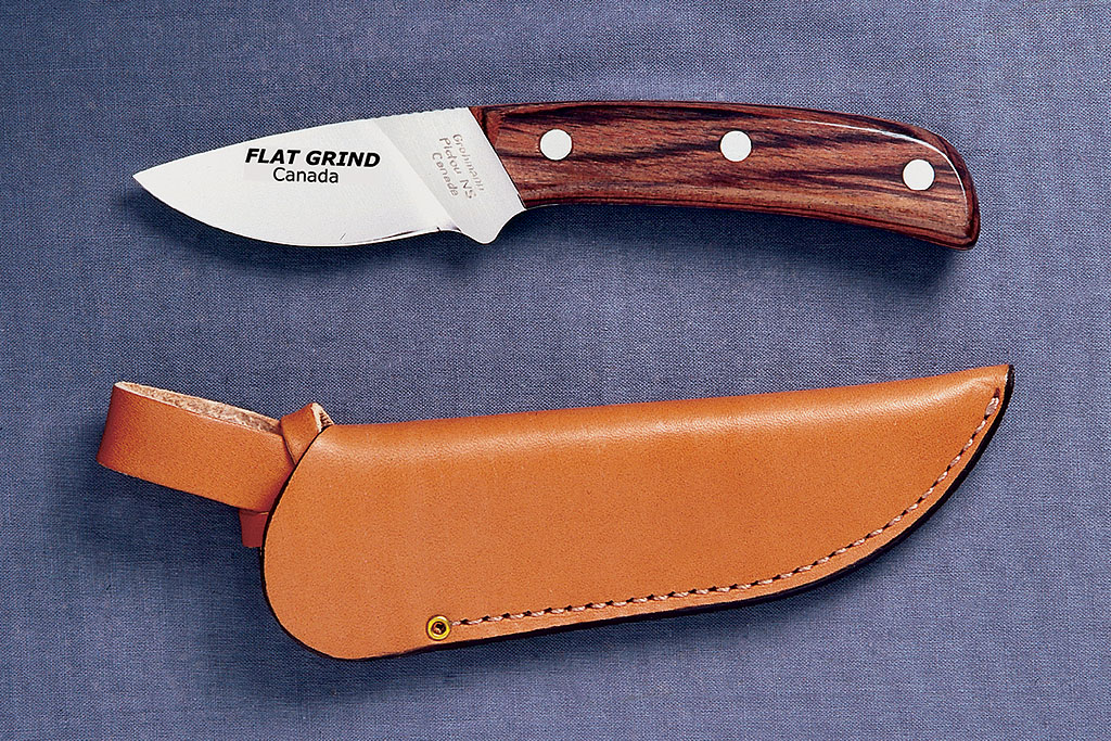 Outdoor Knives 104f The Flat Grind Mini Skinner
